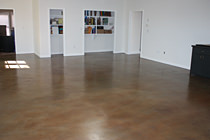 Polishing & Staining Concrete Floors in Texas