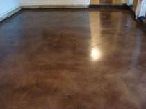 Polishing & Staining Concrete Floors in Dallas, Texas