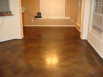 Staining Concrete & Polishing Concrete Flooring