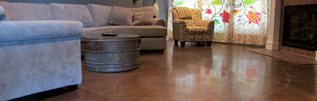 Stained Concrete & Concrete Polishing in Dallas, Texas