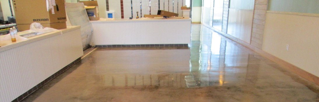 Commercial Stained Concrete & Concrete Polishing Services